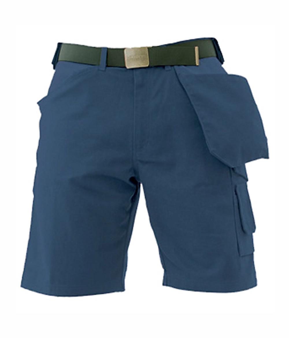 SKILLERS Navy Super Canvas Shorts