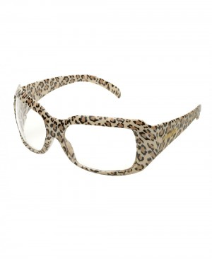 Elvex CHICA Leopard Frame Safety Glasses SG-42